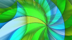 Multicolor swirling  - motion graphic