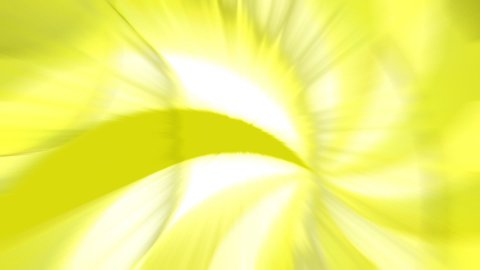 Abstract yellow patterns swirling  - stock footage
