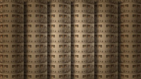 Amplifier Wall cylinder 02 - stock footage