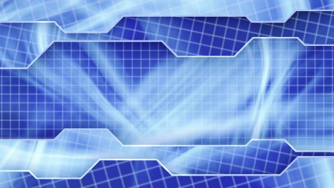 blue technology plates background loop - stock footage