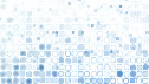 blue liquid squares loopable pattern animation - stock footage
