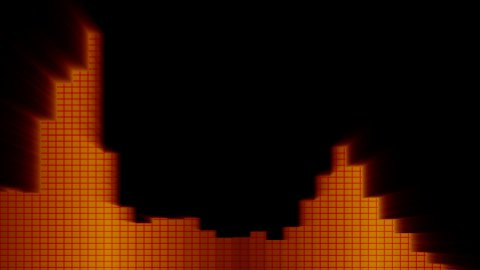 audio Equalizer 02 - stock footage