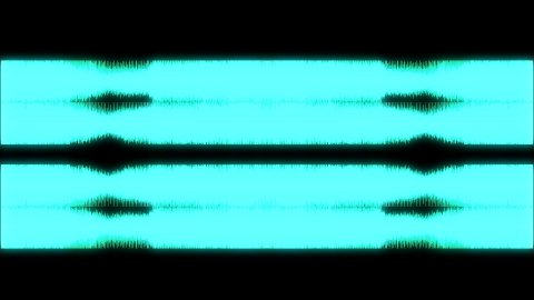 Audio Spectrum Zoom 01 - stock footage