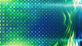 blue green energy light beam flowing loop - motion graphic