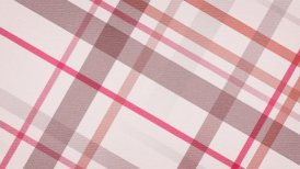 red checked fabric loopable background - motion graphic