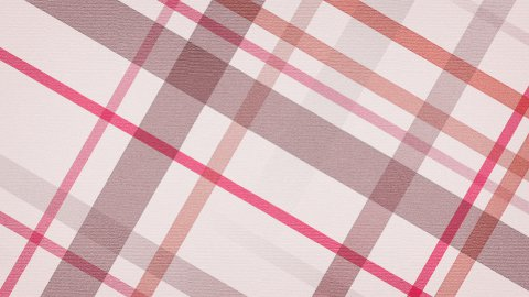 red checked fabric loopable background - stock footage