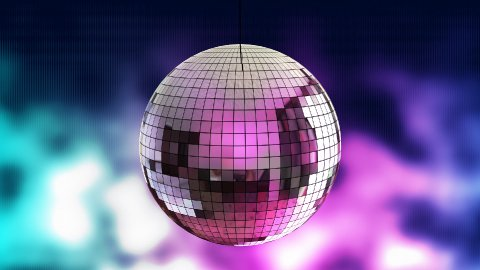 Disco Ball 03 - stock footage
