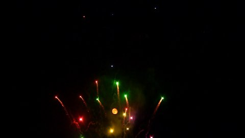 Fireworks 10 - stock footage