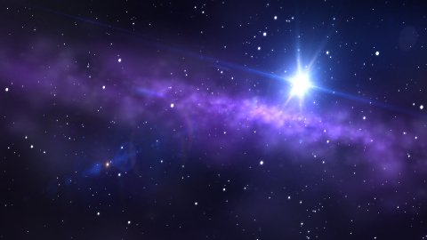 space background - stock footage