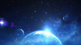 space background - motion graphic