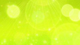 Green fresh bokeh background LOOP - motion graphic