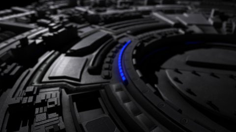 Spinning Industrial Machine HD - stock footage