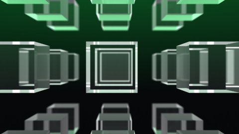 Cube Array - stock footage