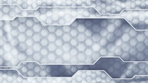 grey technology plates background loop - stock footage