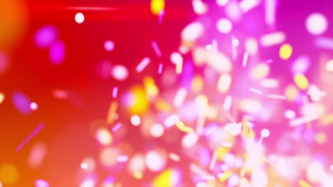 sparkles chaos red loopable background - stock footage