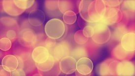 delicate pink yellow circle bokeh lights loop background - motion graphic