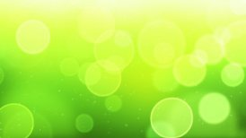 green bokeh circles loop background - motion graphic