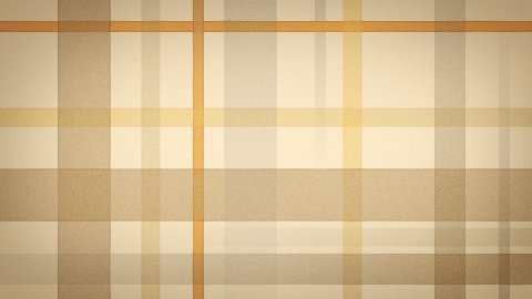yellow brown checked fabric loopable background - stock footage