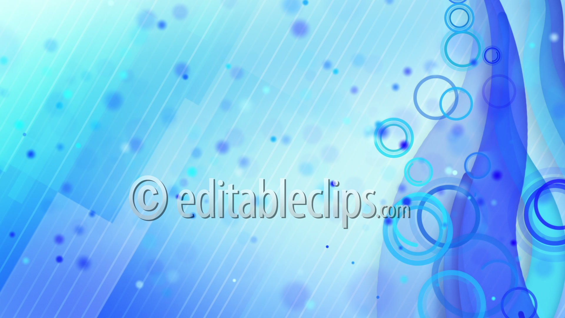 particles lines blue loop background