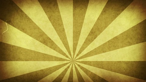 yellow grungy rays loop background - stock footage