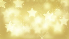 gold bokeh stars and particles loop - motion graphic