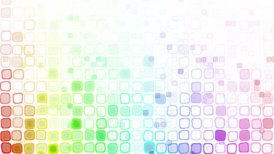 rainbow liquid squares loopable pattern animation - motion graphic