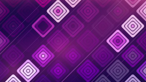 abstract technology squares loop - stock footage