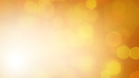 yellow loopable background hexagonal lights - stock footage