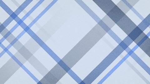 blue checked fabric loopable background - stock footage