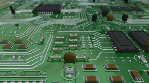 Circuit Board Inspection - stock footage