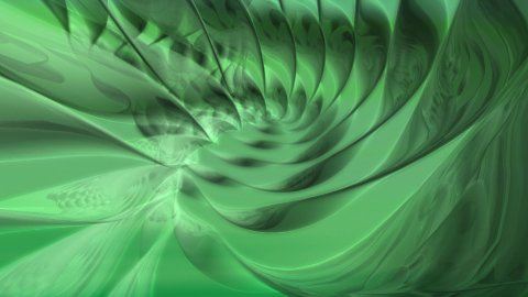 Abstract Green Spiral - stock footage