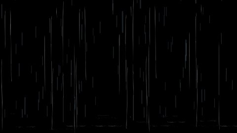 Falling rain drops - stock footage