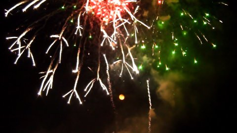Fireworks 16 - stock footage