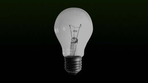 color bulb lights - stock footage