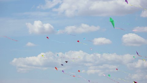 Kite 06 - stock footage