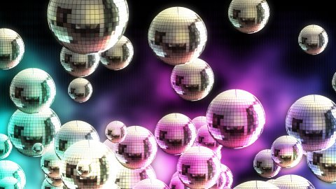 Disco ball 04 - stock footage