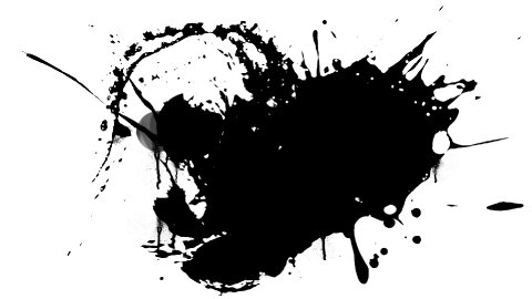 Ink splashes 01 - stock footage