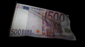 500 Euros bill flag 01 - motion graphic