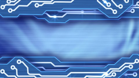 electronic circuit plates blue loop background - stock footage