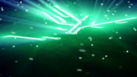 growing circuit board green 3d - motion graphic