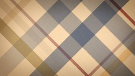 beige checked fabric loopable background - motion graphic