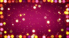 multicolored christmas lights seamless loop background