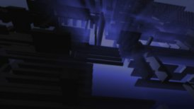 Glowing Blue Background - motion graphic