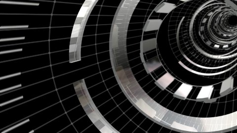 Ring Tunnel Angle - stock footage