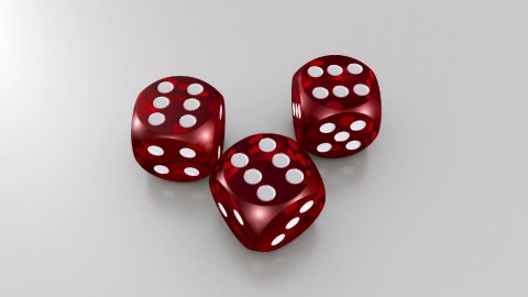 Red Dices - stock footage