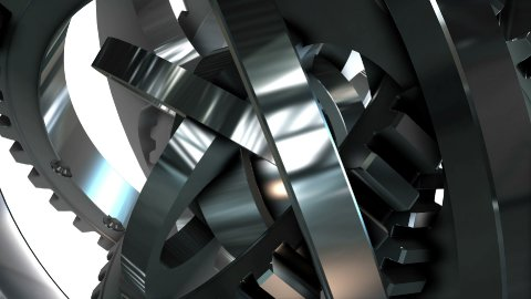metal object - stock footage