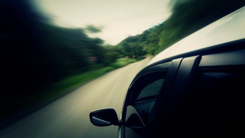 Countryside Car Trip 01 - stock footage
