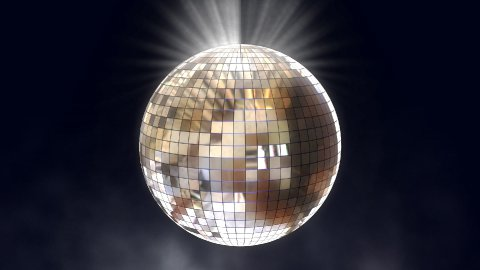 disco ball 01 - stock footage