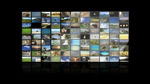 Multimedia TV Wall 01 - stock footage