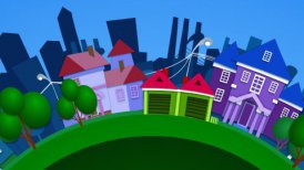 animation city  - motion graphic